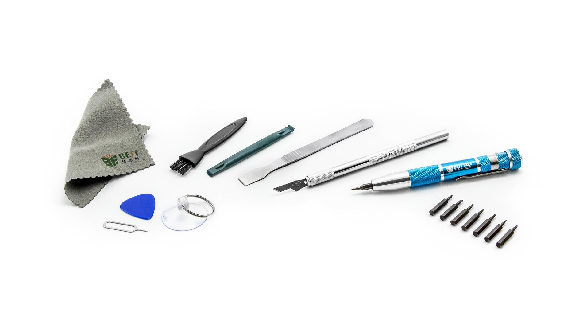 Sada nástrojů pro rozebírání a opravy BEST BST-608 18 dílů