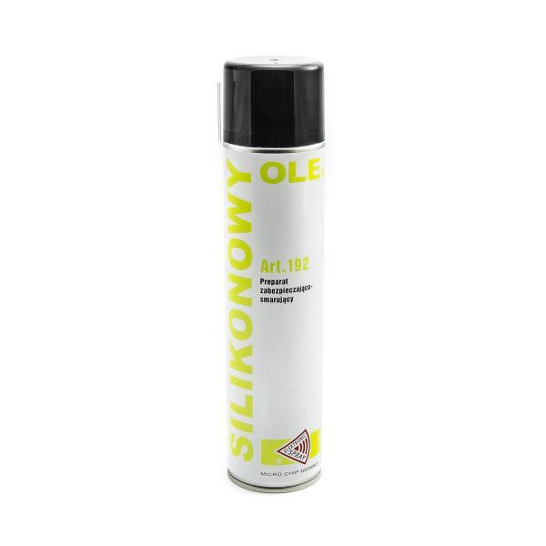 Silikonový olej sprej 600ml