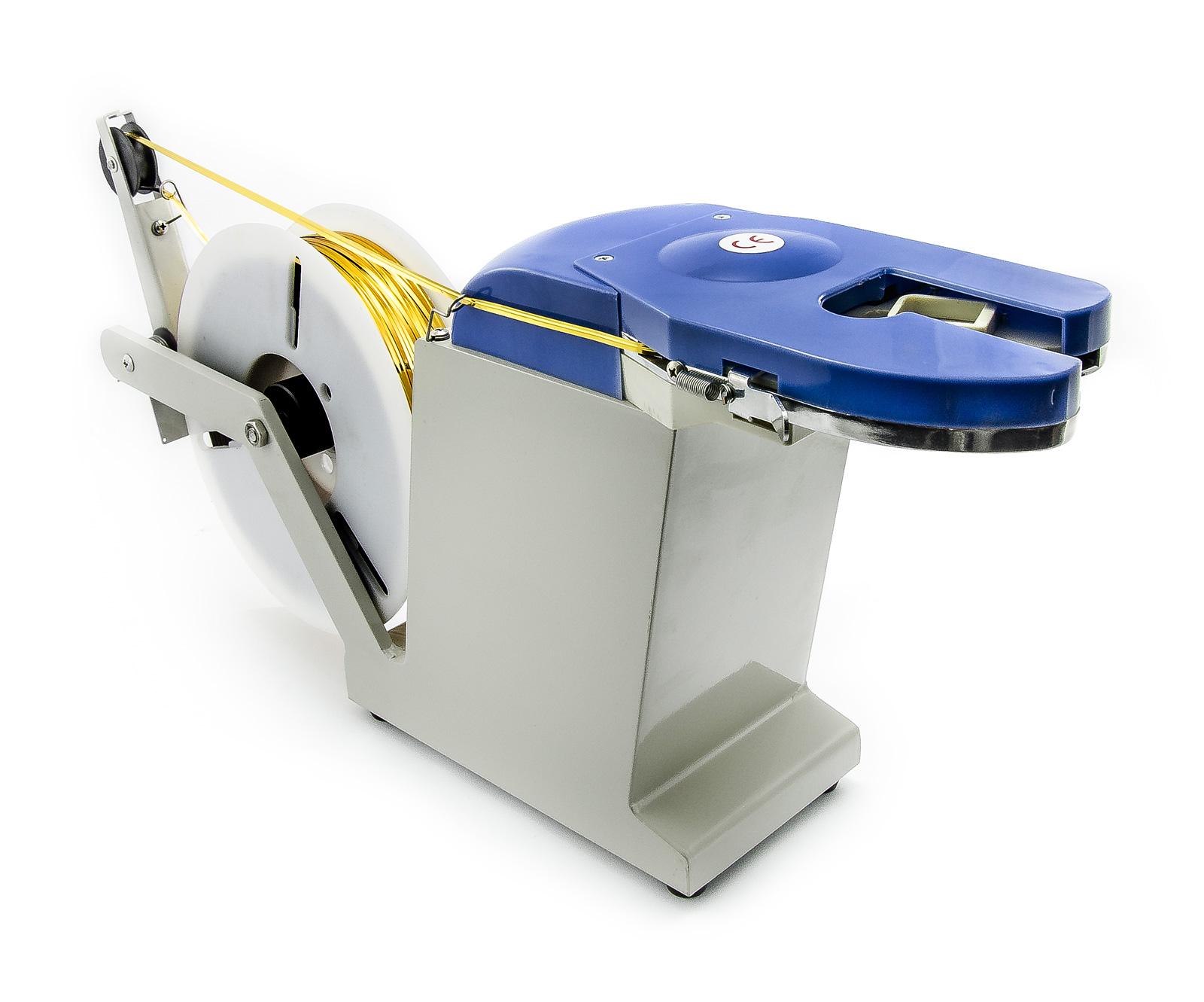 Vázačka (drátovačka) pro uzavírání pytlů a sáčků na twistband vázací pásky s drátem
