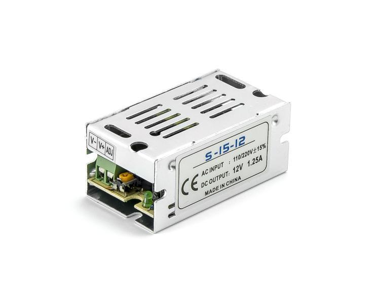 Modulový zdroj S-15-12 12V 1.25A 15W