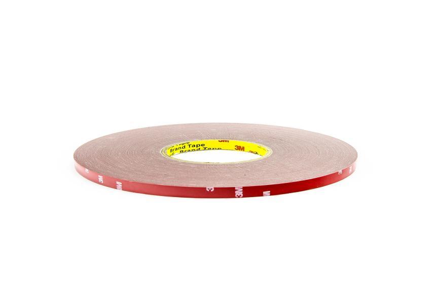 Oboustranná těsnící páska šedá tloušťka 0.5mm, šíře 5mm, délka 60m
