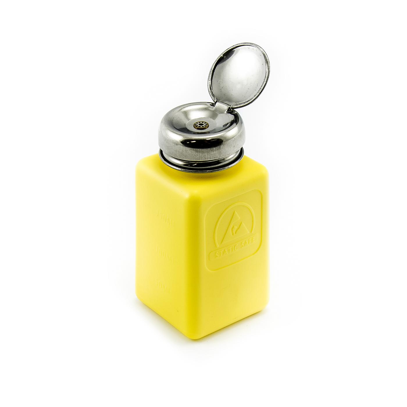 Antistatická lahev s pumpičkou na líh a benzín 200ml žlutá