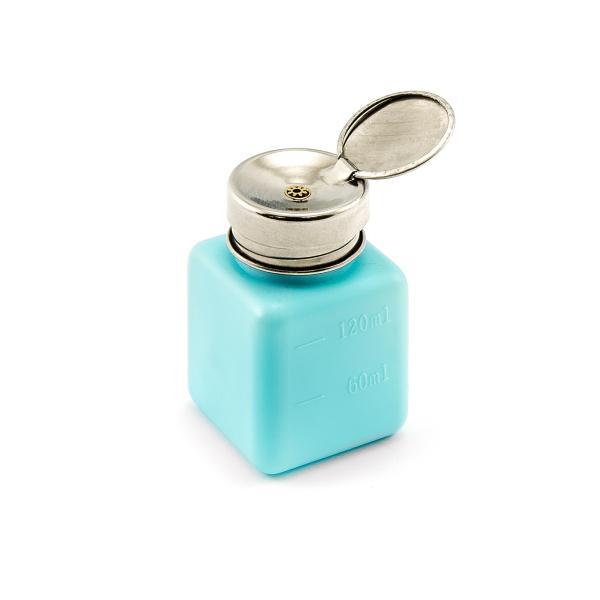 Dávkovač tekutin s pumpičkou ESD safe 150ml modrý