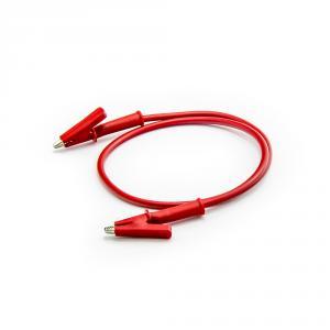 Kabel krokosvorka - krokosvorka 50cm červený