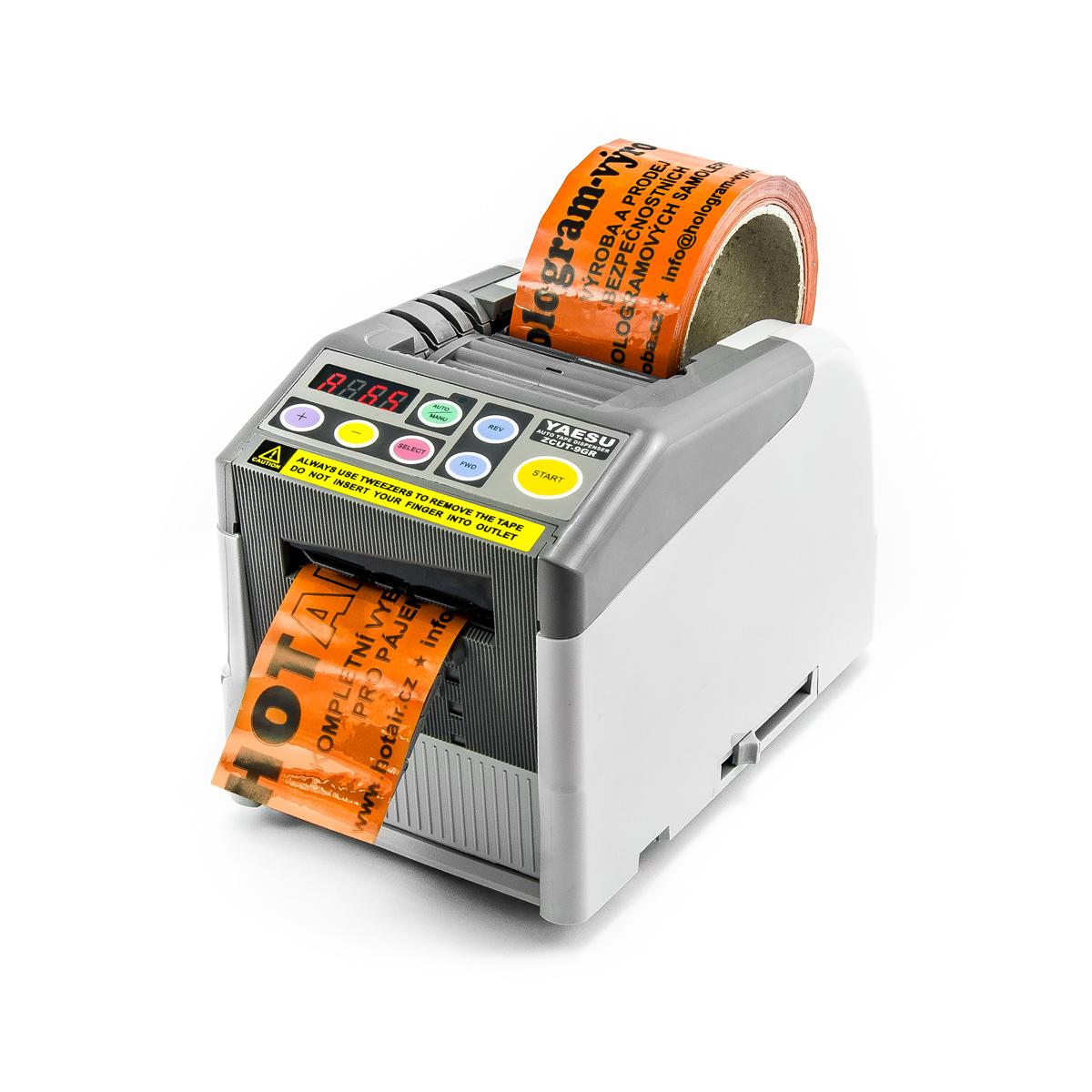 Dávkovač lepících pásek Yaesu ZCUT-9GR s programovatelnými makry
