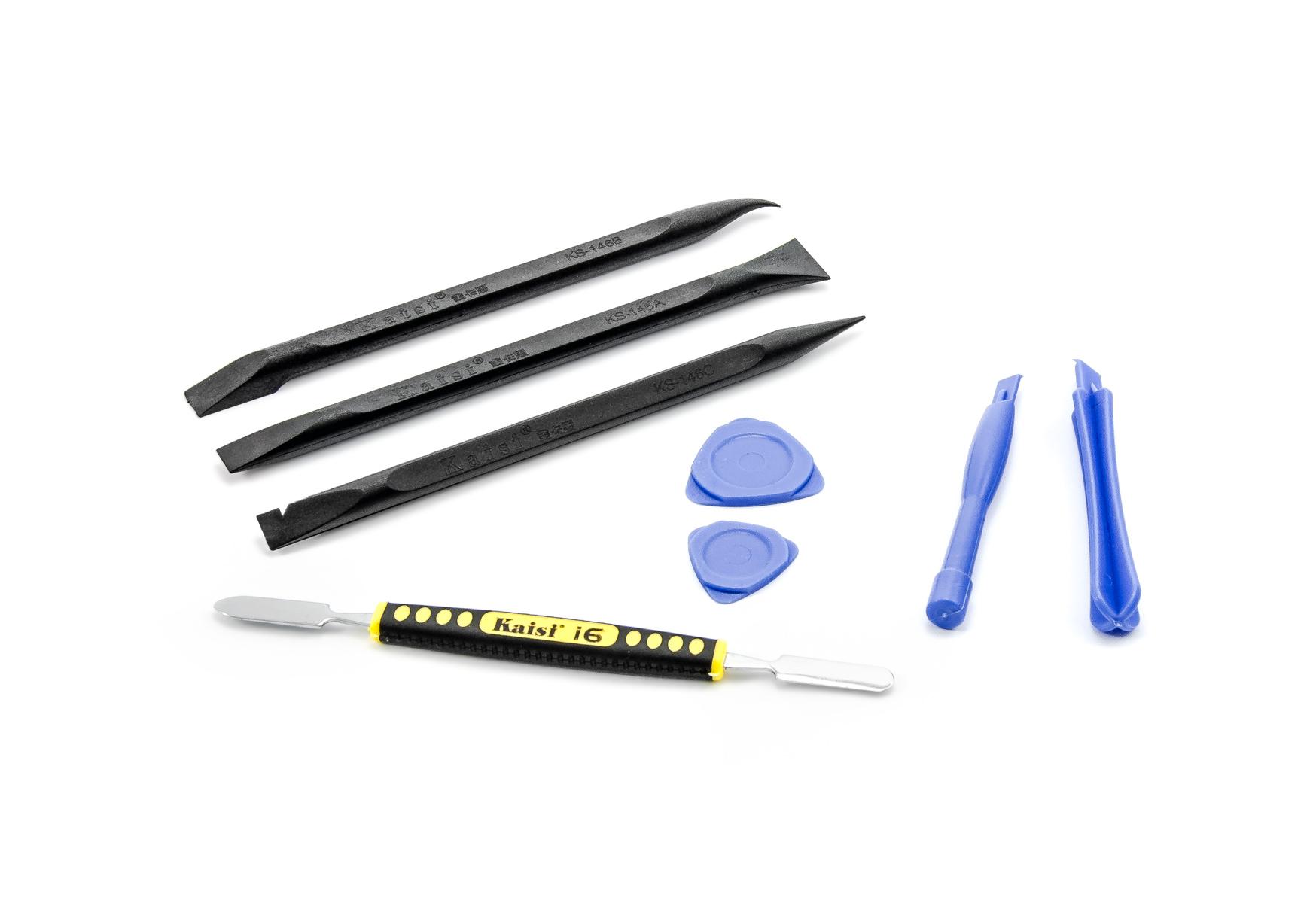 Sada nástrojů pro demontáž a opravu telefonů a tabletů
