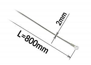 Tavný odporový drát ke svářečce FRN-800 šířka 2mm