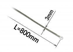 Tavný odporový drát ke svářečce FRN-800 šířka 3mm