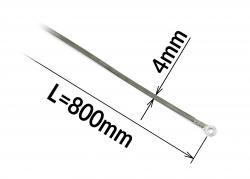 Tavný odporový drát ke svářečce FRN-800 šířka 4mm