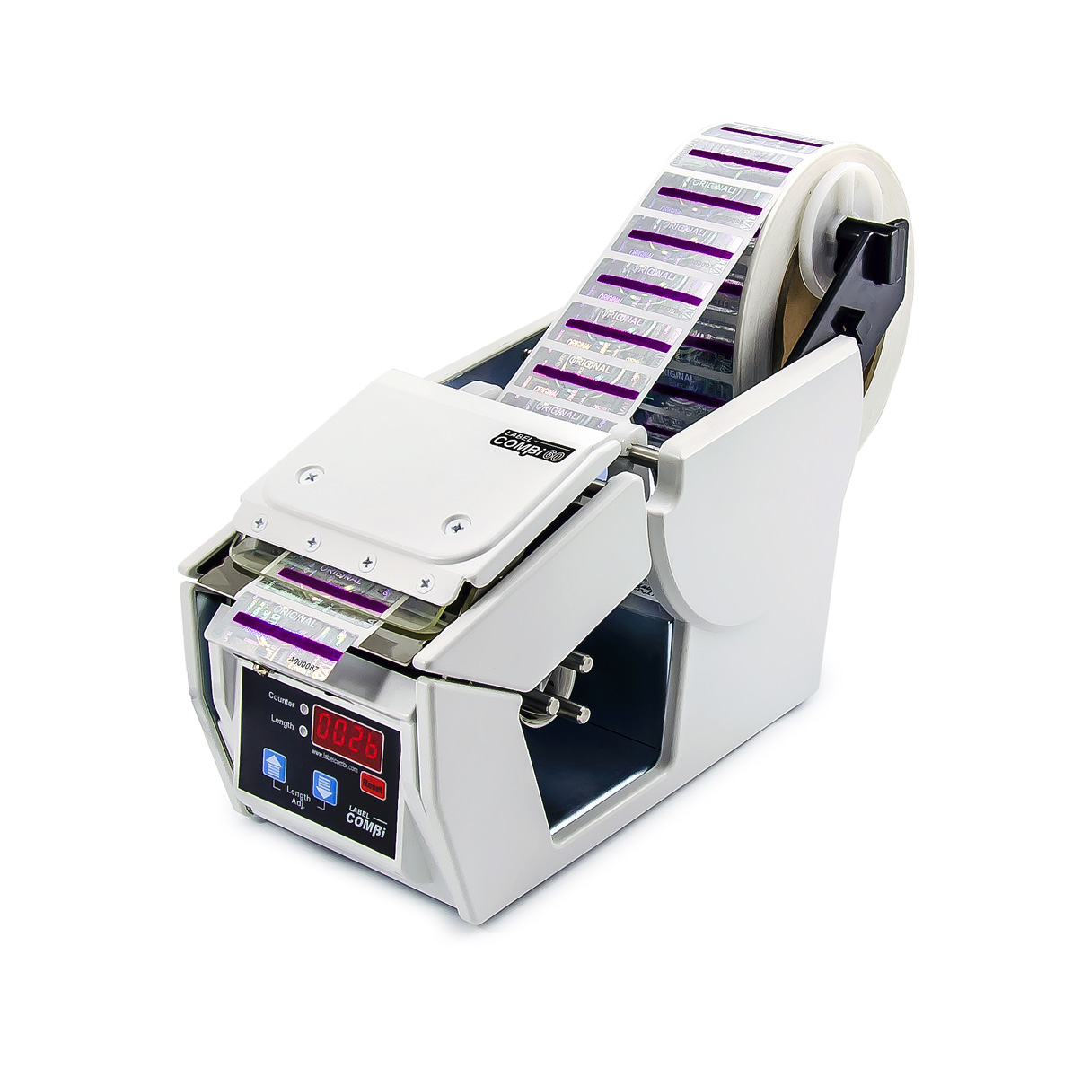 Automatický dávkovač samolepek, štítků a etiket Label Combi 60