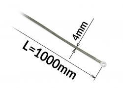 Tavný odporový drát ke svářečce FRN-1000 šířka 4mm