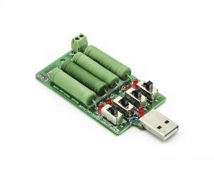 Odporová USB zátěž a vybíječ baterií, až 1,25W - 20W