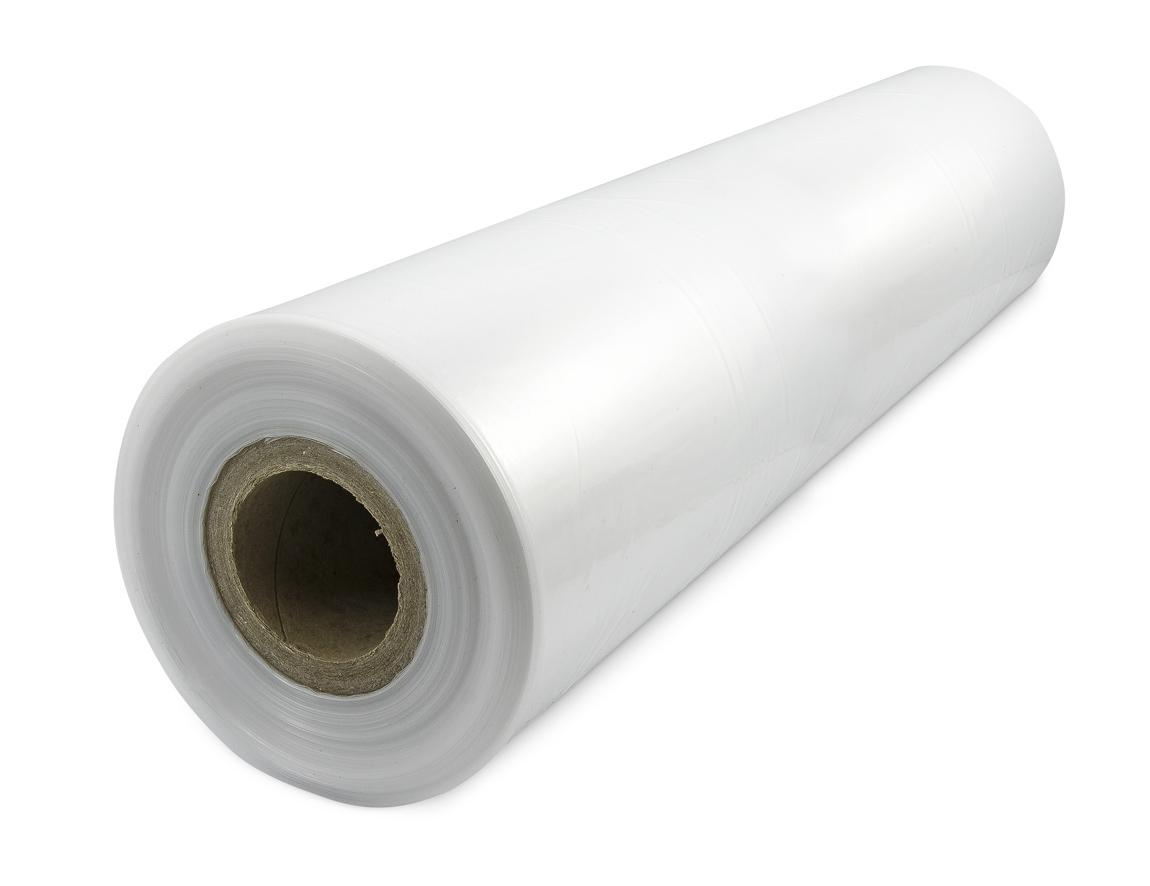 PE fólie rukáv (tunel) síla 45micron, šířka 750mm, délka 200m