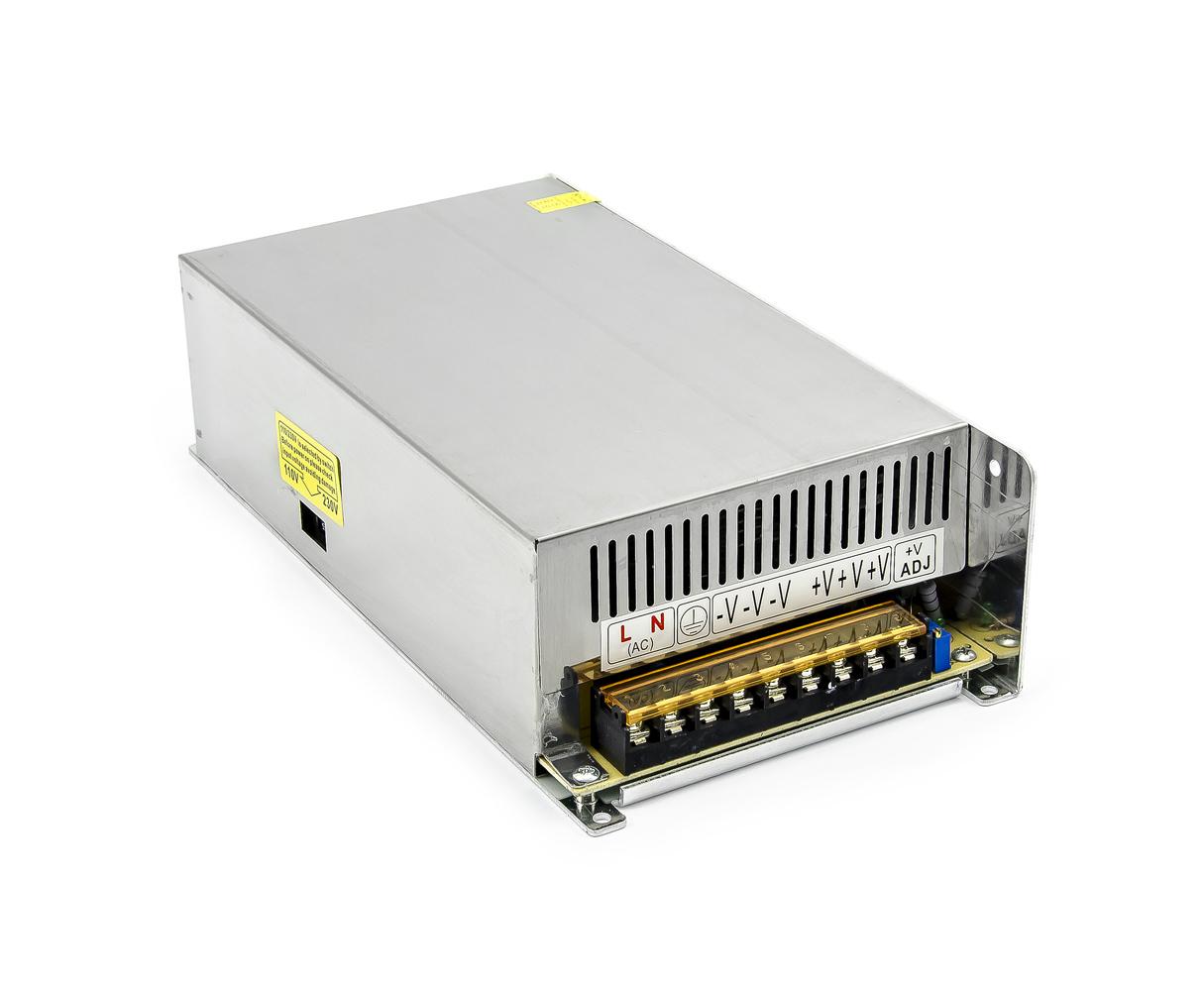 Spínaný průmyslový zdroj S-600-12 12V 50A 600W