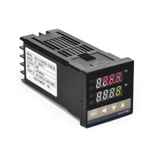 Průmyslový PID termostat REX-C100FK02 0 - 999°C