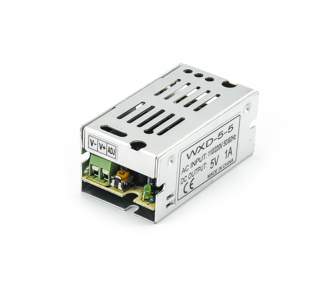 Spínaný zdroj WXD-5-5 5V 1A 5W