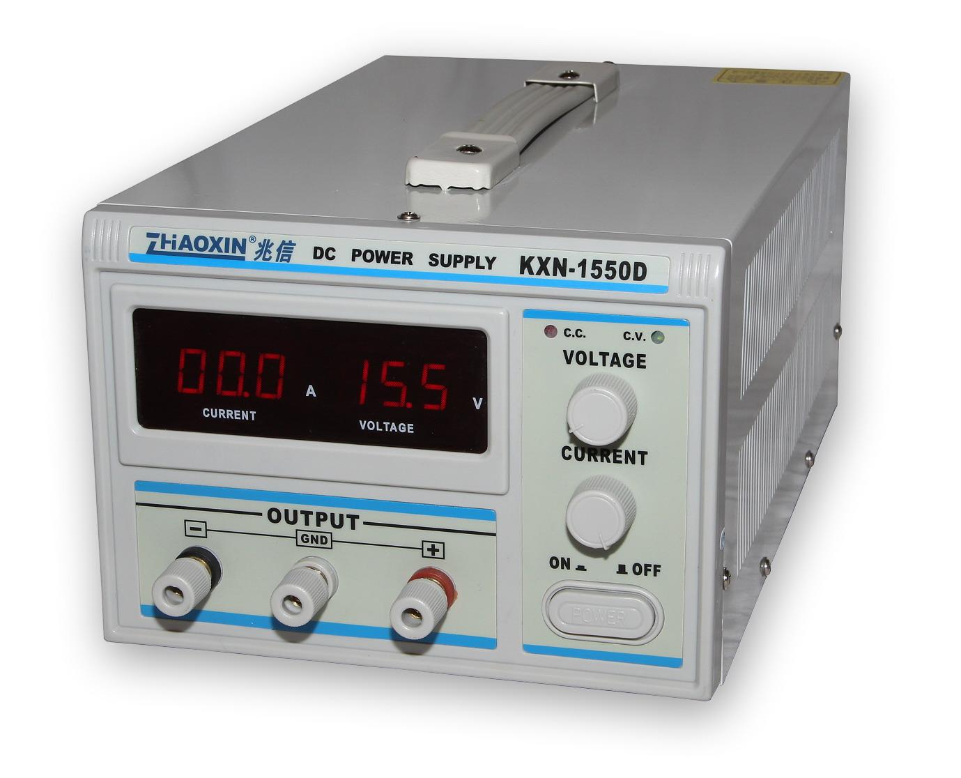 Laboratorní zdroj KXN-1550D 0-15V/50A