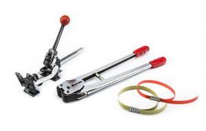 Napínák ruční na PP, PES, PET pásky 12-16mm a uzavírací kleště v setu