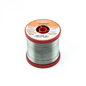 Cínová pájka trubičková 0.8mm Sn60Pb40 HS10 STANNOL 500g
