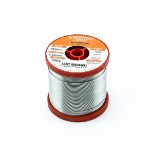 Cínová pájka trubičková 1mm Sn60Pb40 HS10 STANNOL 500g
