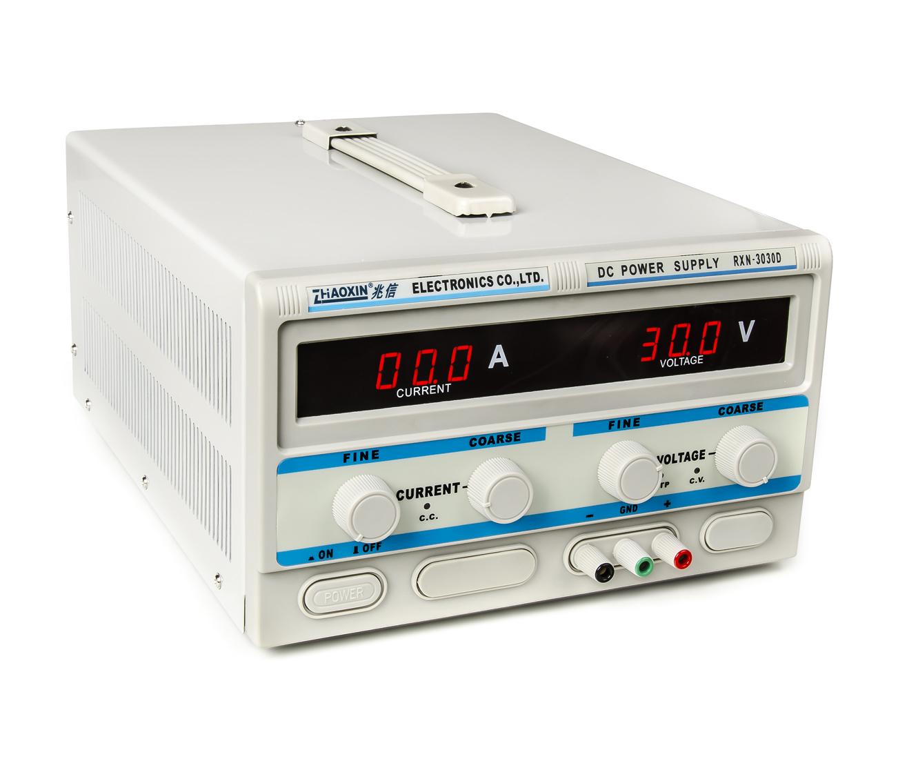 Laboratorní transformátorový zdroj RXN-3030D 0-30V 30A