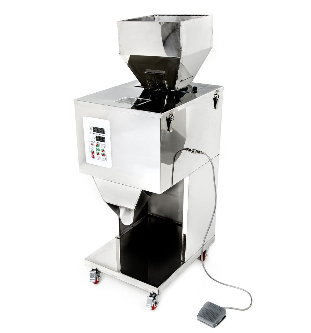 Automatický dávkovač sypkých materiálů a směsí 10 - 1000g