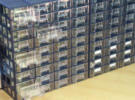 Univerzální plastové šuplíky A1 - použité