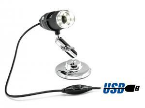 Přenosný USB mikroskop pro mikroskopická měření, 2MPx, zoom 500x