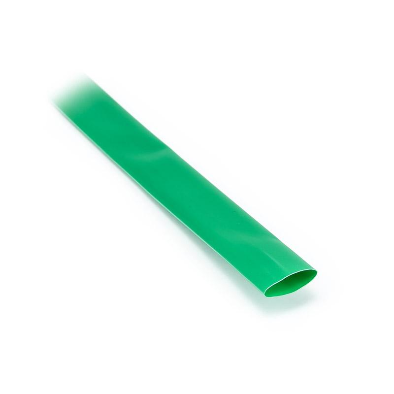 Smršťovací bužírka 11,2mm/5,1mm zelená