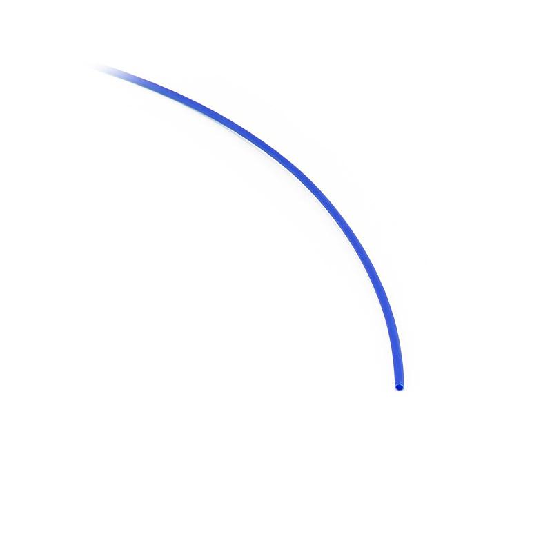 Teplem smrštitelná bužírka 1,6mm/0,6mm modrá