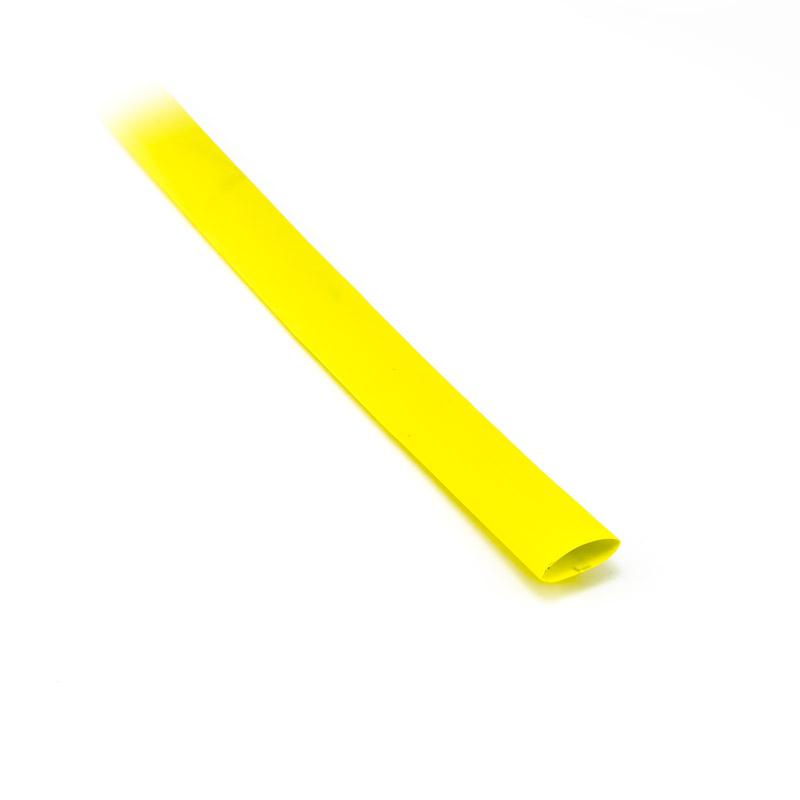 Smršťovací bužírka 9,5mm/4,6mm žlutá