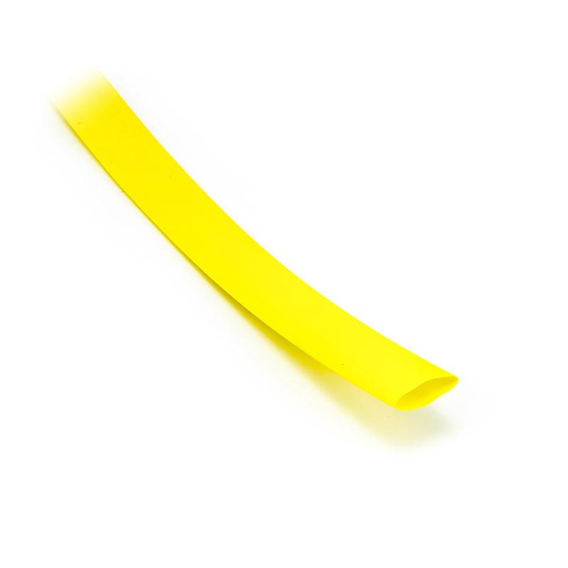 Smršťovací bužírka 11,2mm/5,4mm žlutá