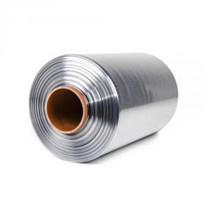 Teplem smštitelná PVC fólie - polorukáv, 30micron, šířka 300mm, délka 400m