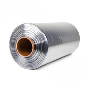 Teplem smštitelná PVC fólie - polorukáv, 30micron, šířka 400mm, délka 400m