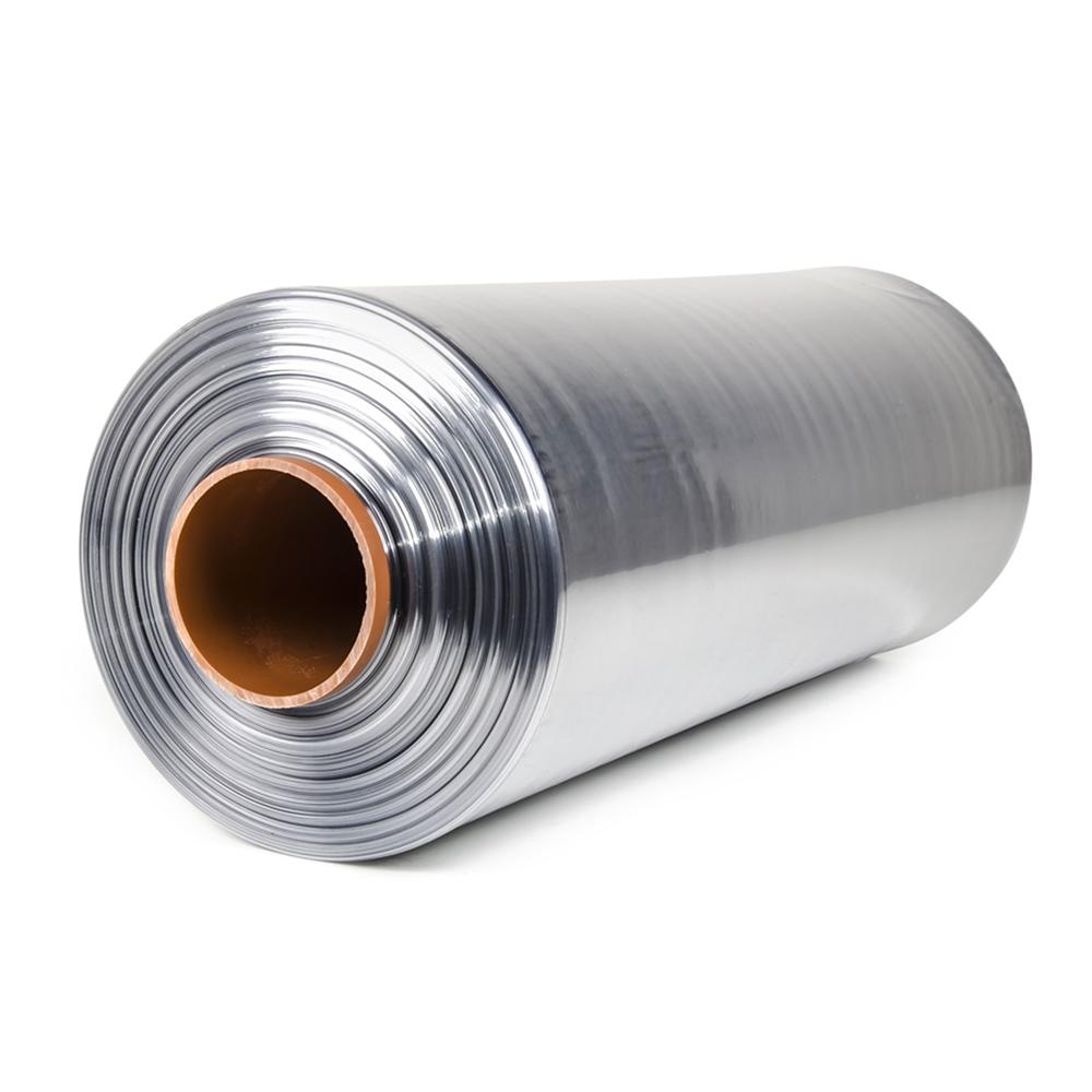 Teplem smštitelná PVC fólie - polorukáv, 30micron, šířka 500mm, délka 400m