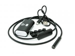 Wifi endoskop pro Android a iOS s krytím IP66 měkký kabel 1m