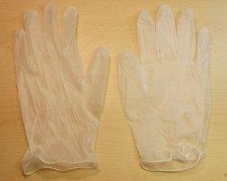 Vinylové rukavice nepudrované 1 pár