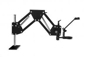 Dlouhé otočné rameno pro průmyslové mikroskopy 36 - 80cm
