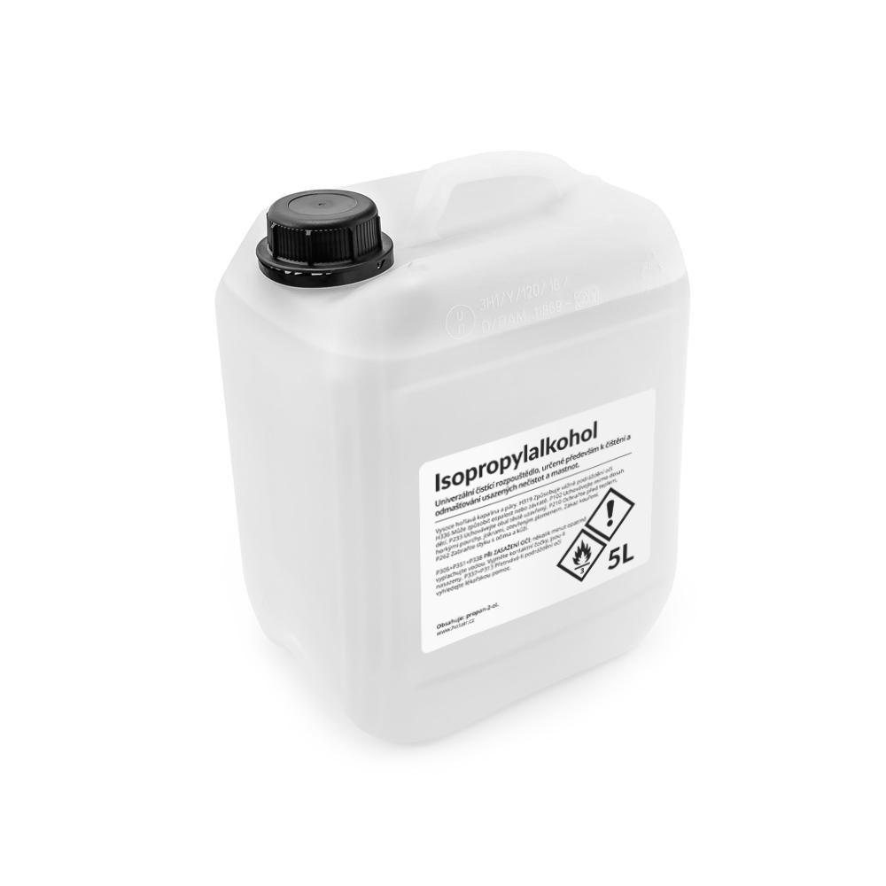 Isopropanol - izopropylalkohol IPA univerzální čistič mastnoty a usazenin 5L