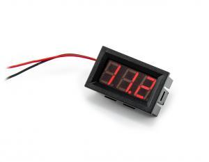 Panelový voltmetr 2.5 - 30V DC