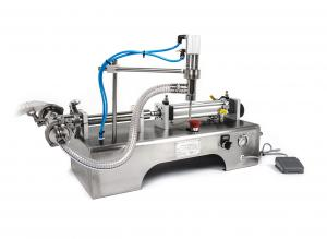 Pneumatická plnička kapalin - dávkovač tekutin 10 - 100ml
