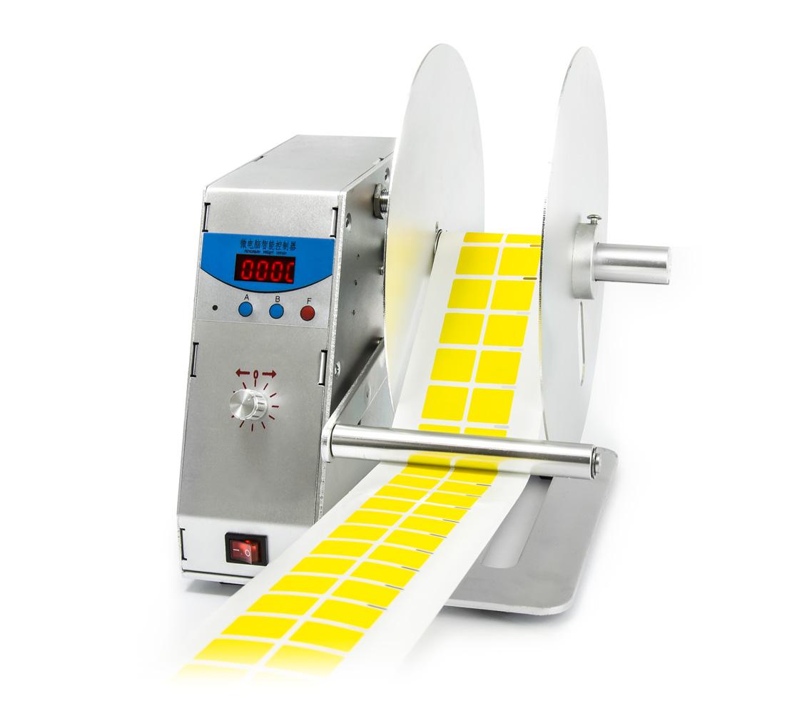 Automatický Převíječ a naviják pásek a samolepek KLD-H-115