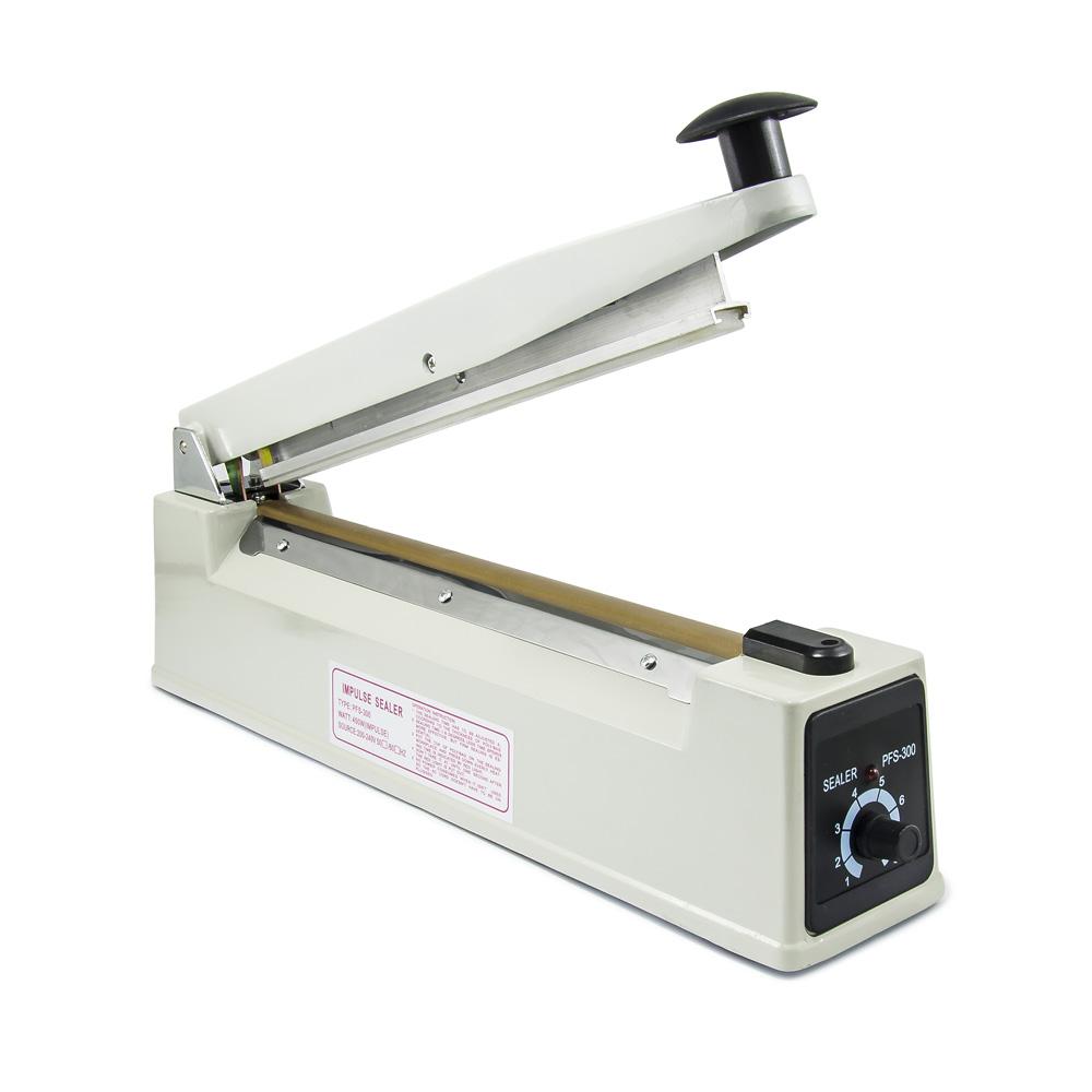Páková svářečka fólií PFS-300X, široký svar 8mm, délka 300mm