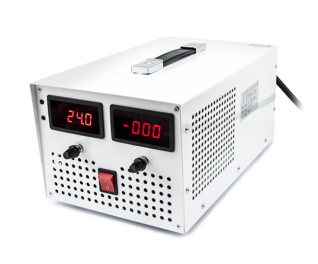 Průmyslový zdroj S2500-24 s regulací napětí 3 - 24V, 100A, 2400W