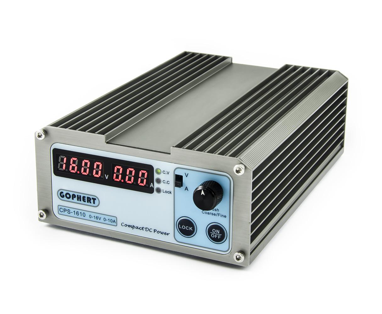 Spínaný laboratorní zdroj Gophert CPS-1610 0-16V/10A