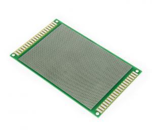 Vývojové oboustranné PCB s 6537 kontakty 15x9cm