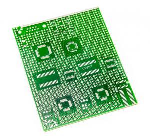 Prototypovací univerzální PCB pro SMD DIP SOT LQFP SOP součástky 9x11cm