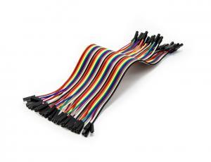 Sada propojovacích drátků s kolíkovými konektory samice - samice 40ks