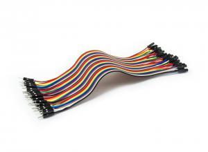 Sada propojovacích drátků s kolíkovými konektory samec - samice 40ks