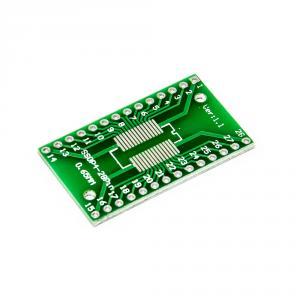 PCB redukce z SOP4-28 1.27mm, SSOP4-28 0.65mm na DIP 2.54mm
